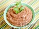 Рецепта Дип от бял и кафяв боб